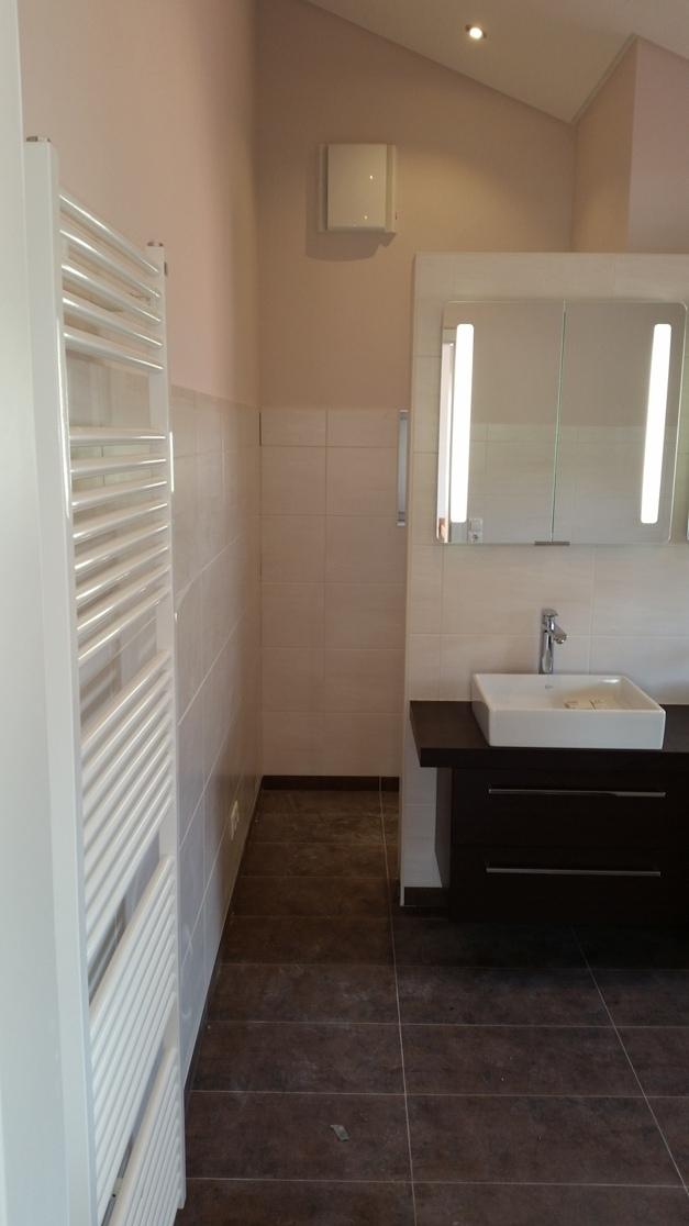 Bad im Neubau-Einfamilienhaus